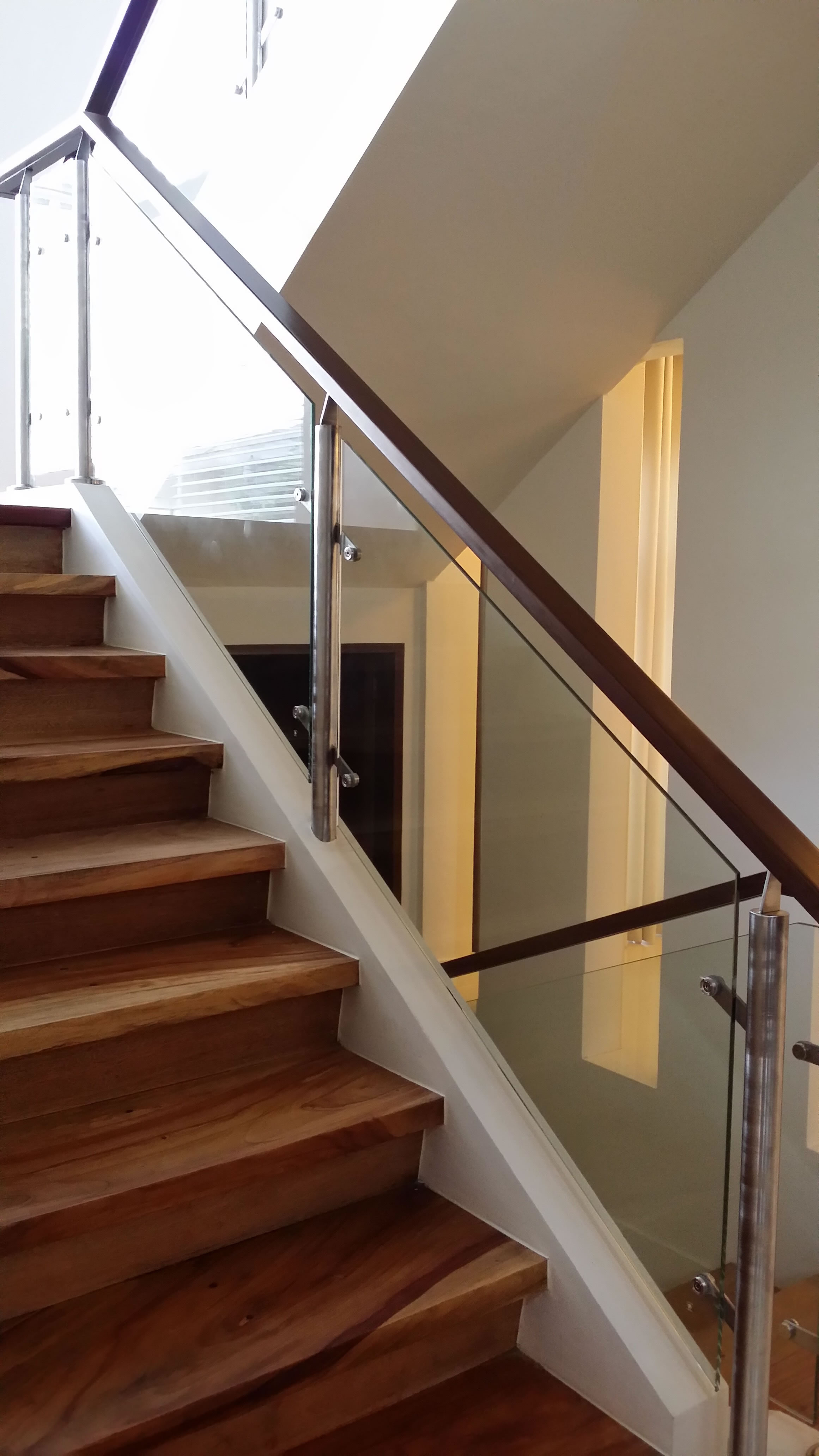 Glass Staircase | Cavitetrail, Glass Railings Philippines ...