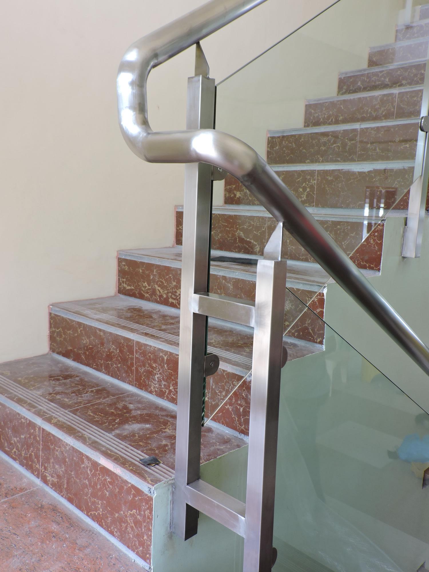 Glass Stair Railing Bicol Albay Philippines