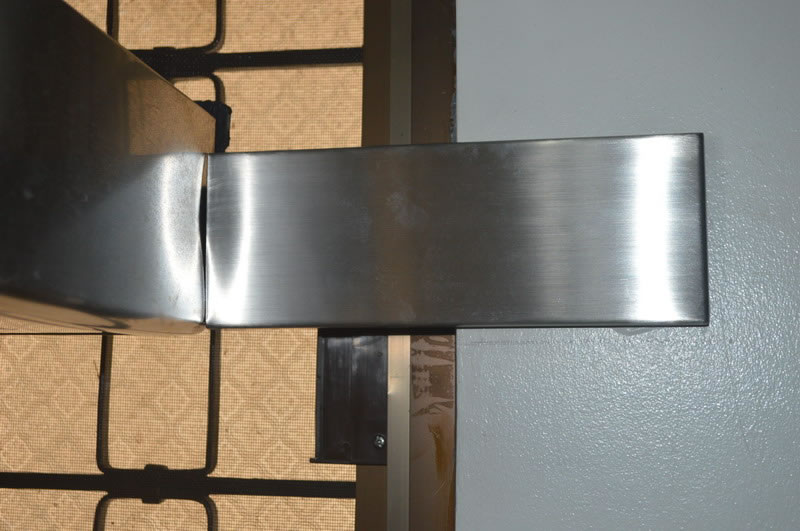 Hood Bracket Stainless Cover