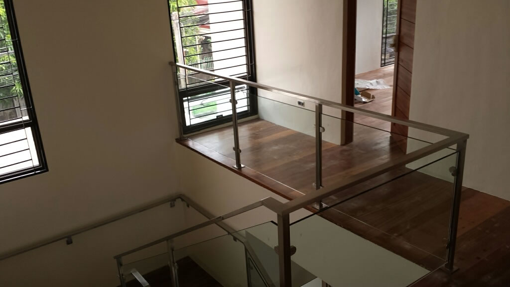 Glass Stair Railing And Balcony Railing Supplier in the Philippines