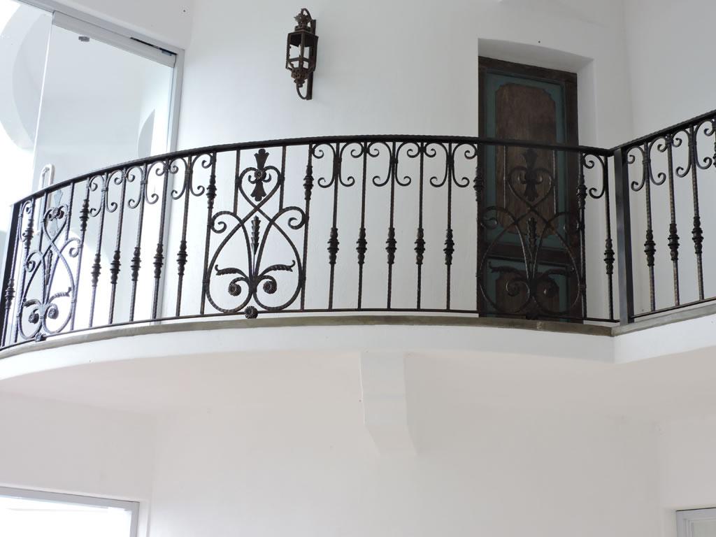 Stair Railing Mediterranean Design Cavitetrail Glass