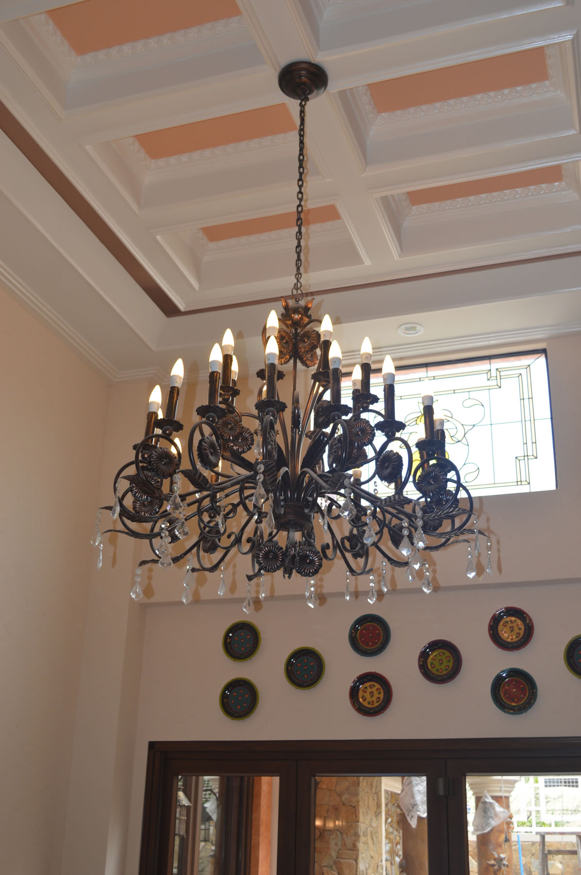 Candle Light Chandelier | Cavitetrail, Glass Railings Philippines ...