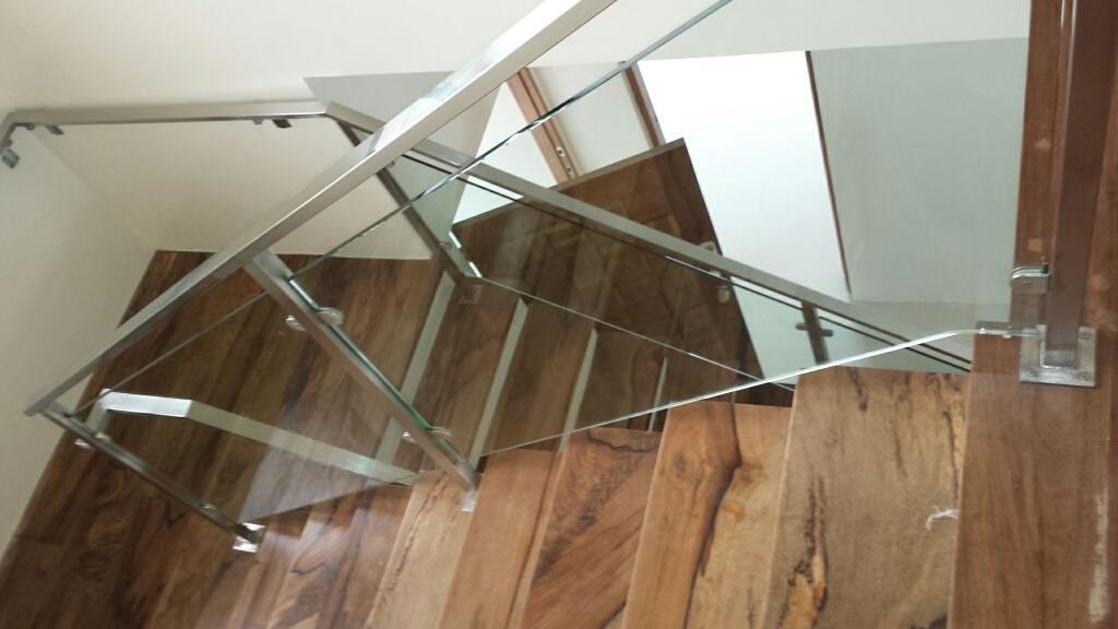 Glass Stainless Railing Cavitetrail Glass Railings