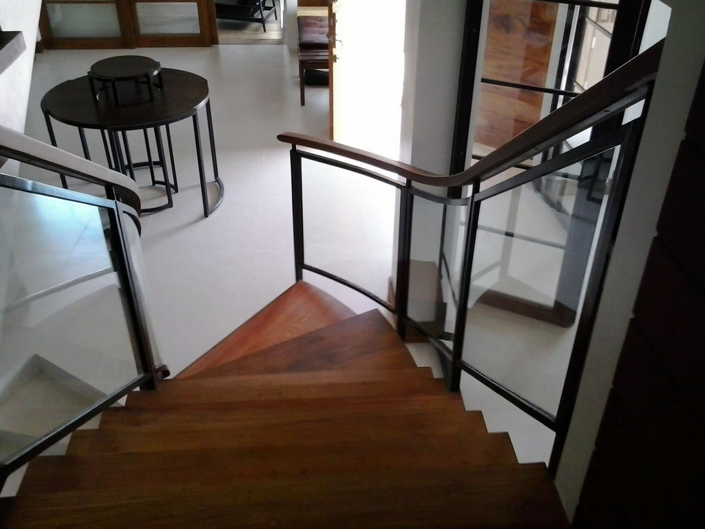 Glass Stair Railing Cavitetrail Glass Railings