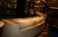 Counter Top Curved Glass