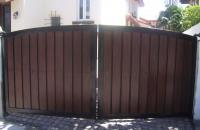 Steel and Wood Gate