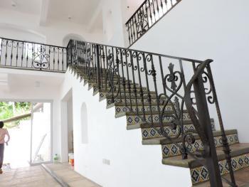 Stair Railing Mediterranean Design